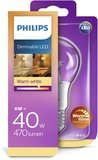 Philips Lamp 6W (40W) E27-  Warme gloed - WarmGlow - Dimbaar